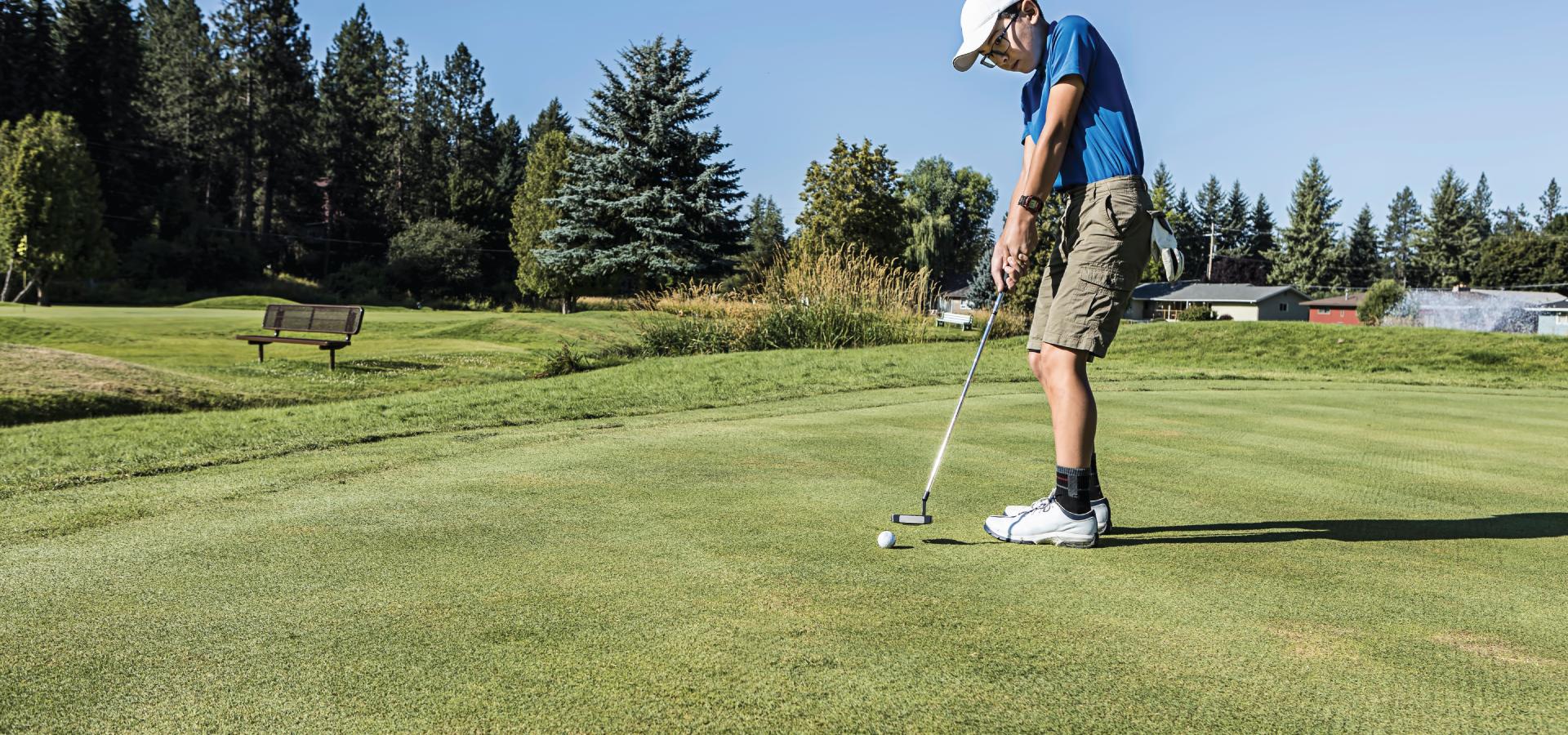 Golfing in Idaho